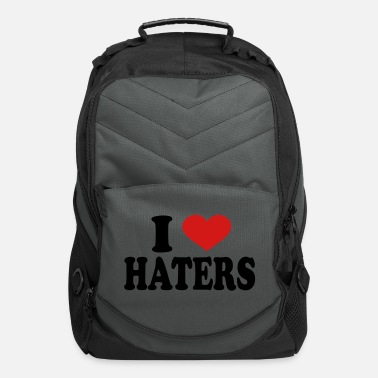 I Love Haters I Love haters - Computer Backpack