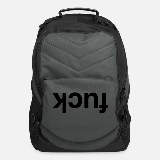 Fuck Bags & Backpacks - KCUF - Computer Backpack charcoal
