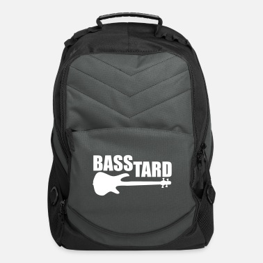 Topseller BASSTARD bass player trend design gift topseller - Computer Backpack