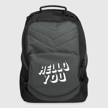 hello you - Computer Backpack