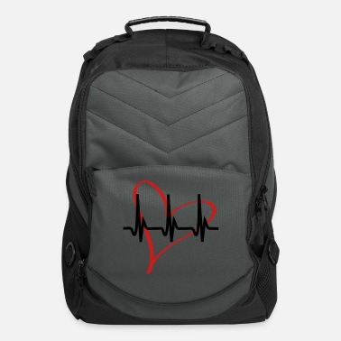 Serce heartbeat - Computer Backpack