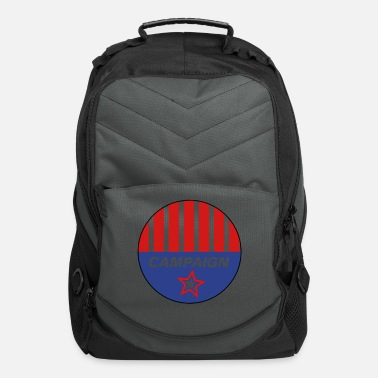 Campaign Campaign Button - Computer Backpack