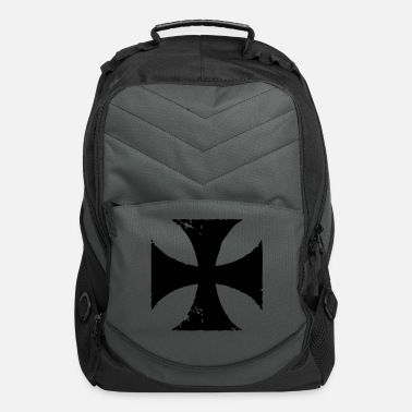 Iron Cross faded iron cross - Computer Backpack