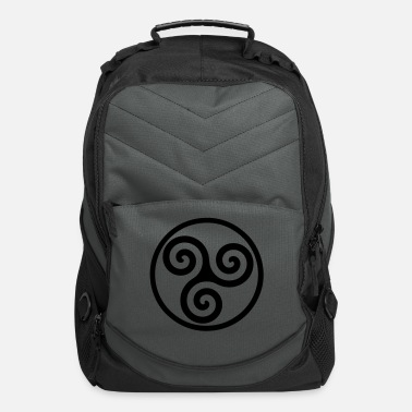 Celte triskelion - Computer Backpack