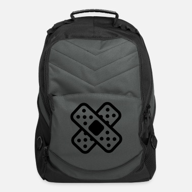 band-aid splatter - Computer Backpack