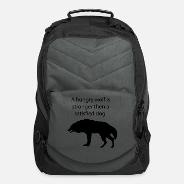 Hungry Wolf Hungry wolf - Computer Backpack