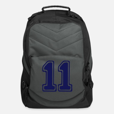 Best Numerology Lifepath Desitny Expression ۞»★Cool Number Eleven 11-Vector design★«۞ - Computer Backpack