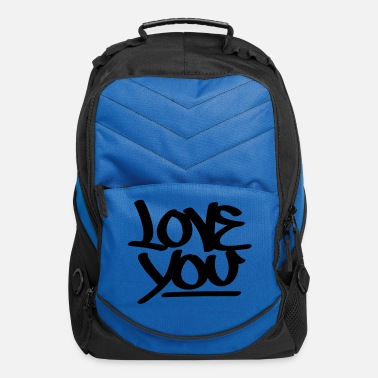 Love You Love You - Computer Backpack