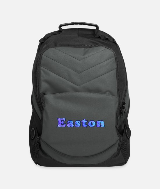 Name Of Birth Bags & Backpacks - Easton - Computer Backpack charcoal