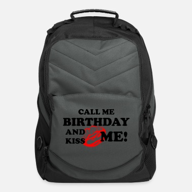 Lipps birthday call kiss me celebrate party red lipps - Computer Backpack