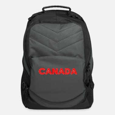 Nort America Canada - Montreal - National Colours - Vancouver - Computer Backpack