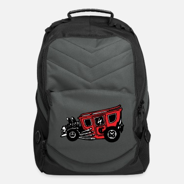 Clunker Hotrod - Computer Backpack