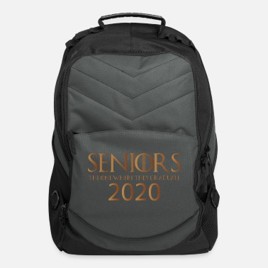 2020 Seniors 2020 The One Where They Graduate Shirt - Computer Backpack