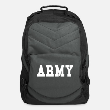 ARMY - white - Computer Backpack