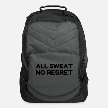 Influenza All Sweat No Regret - Computer Backpack