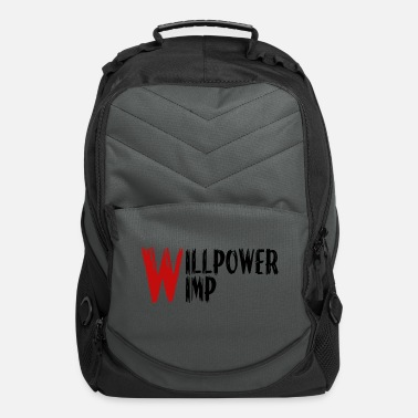 Wimps Willpower wimp - Computer Backpack