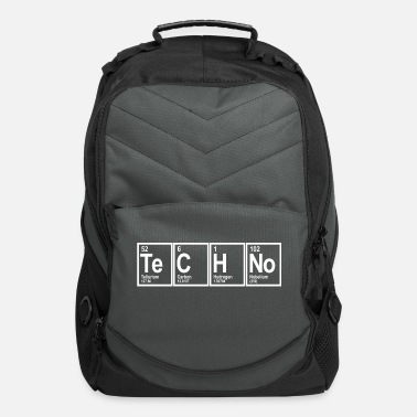 Techno techno - Computer Backpack