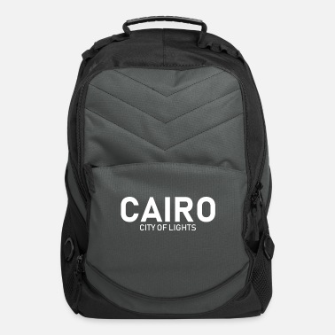 City Of Light Cairo - City of Lights - Egypt - Africa - Computer Backpack