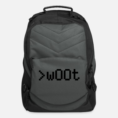 Slogan w00t - Computer Backpack