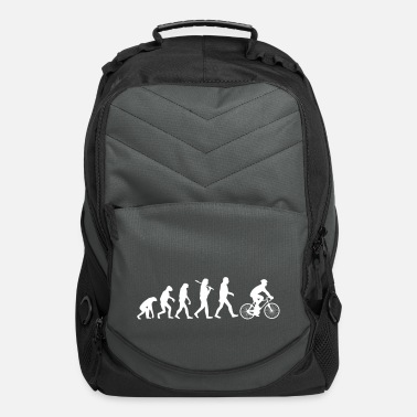 Cycling Evolution Of Biking - Computer Backpack