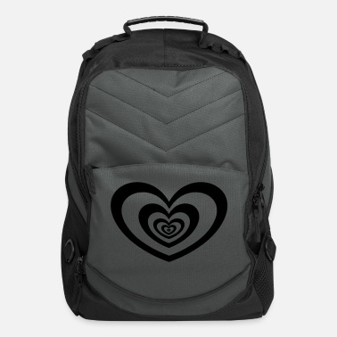 Heart heart in heart - Computer Backpack