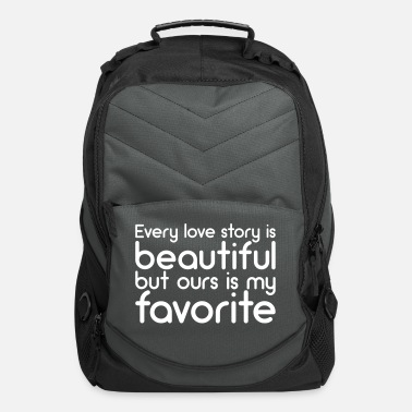 Valentine's Day Love story - Computer Backpack