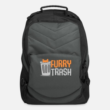 Furry Furry fursuit trash funny fox fursona fandom gift - Computer Backpack