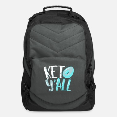 Shops Ketogenic Diet Enthusiast Lifestyle Quote GIfts - Computer Backpack