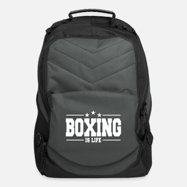 Punch boxing is life 1 - Computer Backpack