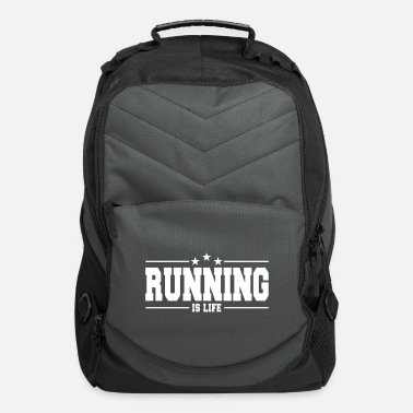 Fitness running is life 1 - Computer Backpack