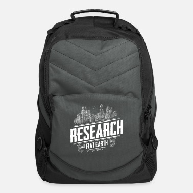 Flat Earth is flat - Flat Earth - Research Flat Earth - Computer Backpack