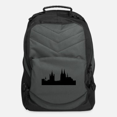 Rhine Cologne Dom city germany gift colonia rhine idea - Computer Backpack