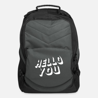 Love You hello you - Computer Backpack