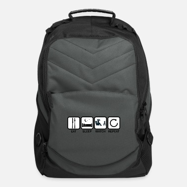 Watch Tv eat sleep watch tv repeat gift - Computer Backpack