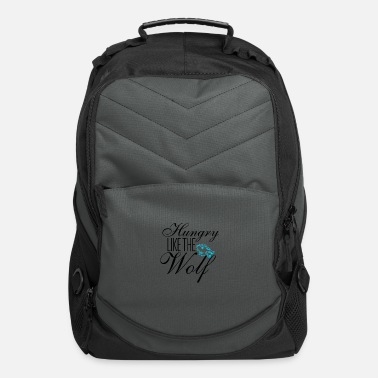 Hungry Wolf Hungry - Computer Backpack