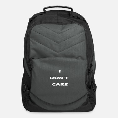 Care i don t care - Computer Backpack