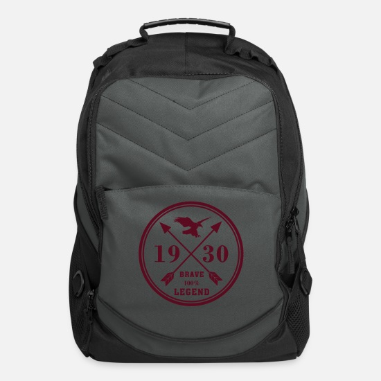 Country Bags & Backpacks - america - Computer Backpack charcoal
