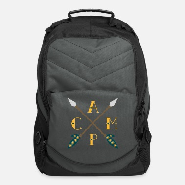 Camping Camp Camping - Computer Backpack