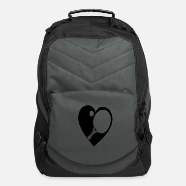 Racket Racket with a heart - Computer Backpack
