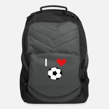 I Love Soccer I Love Soccer. Soccerball. - Computer Backpack
