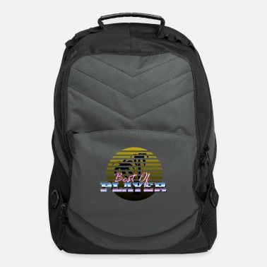 player retro - Computer Backpack