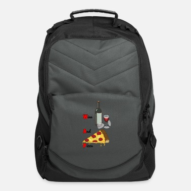 Wap Wine And Pizza - Computer Backpack