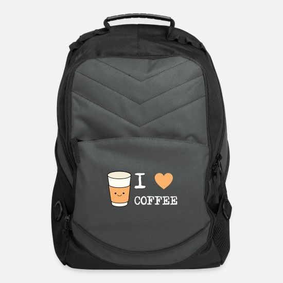 Coffee Bean Bags & Backpacks - Coffee - Computer Backpack charcoal