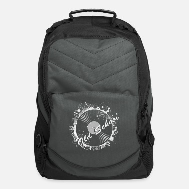 Stylish Vinyl record Retro Design - Computer Backpack