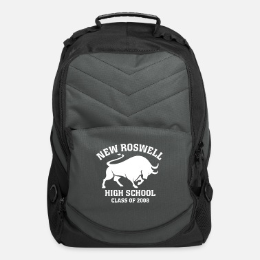 New Roswell High School Class of 2008 Dark BG - Computer Backpack