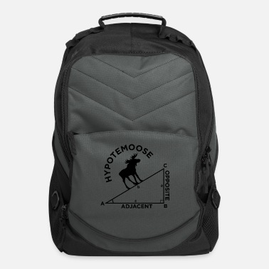 Geometry Moose Math Geometry school quote gift - Computer Backpack
