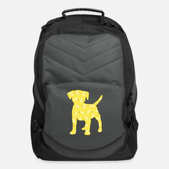 Gift Idea Bags & Backpacks - Beagle dog breed dogowner gift - Computer Backpack charcoal