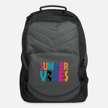 Palm Summer vibes vacation sun gift beach beach - Computer Backpack