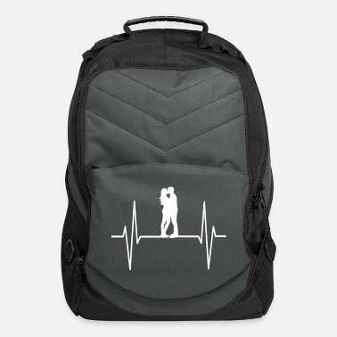 Valentine's Day Love Heartbeat - Computer Backpack
