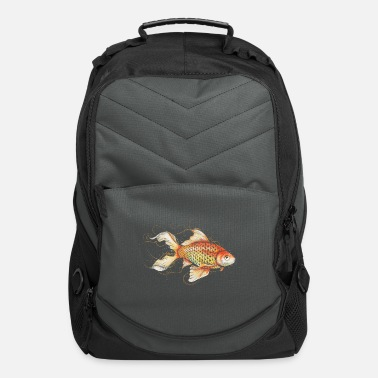 Stylish Goldfish - Computer Backpack